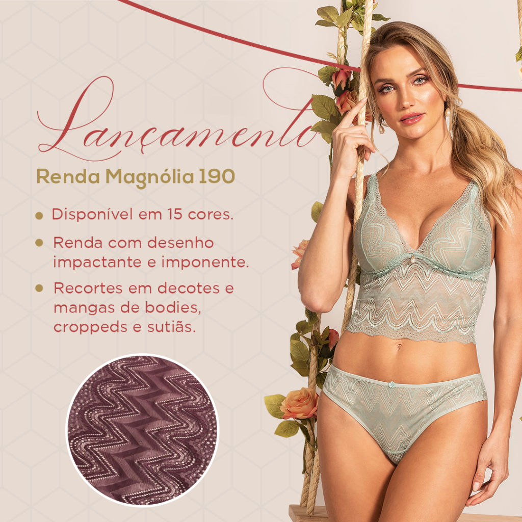 Renda Magnólia 190