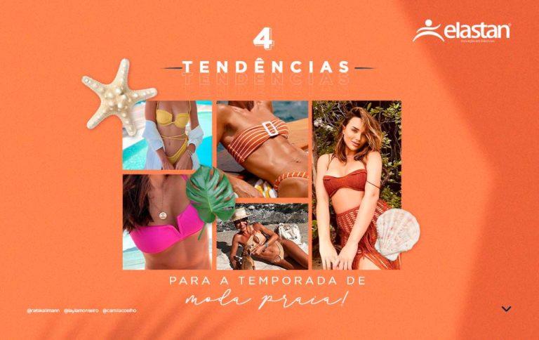 4 tendências para a temporada de moda praia
